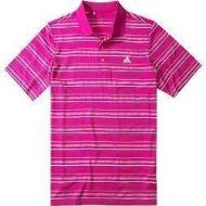 Tricou ADIDAS GOLF STRIPES roz