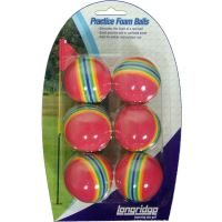 Mingi golf Foam Multicolor, 6 bucati