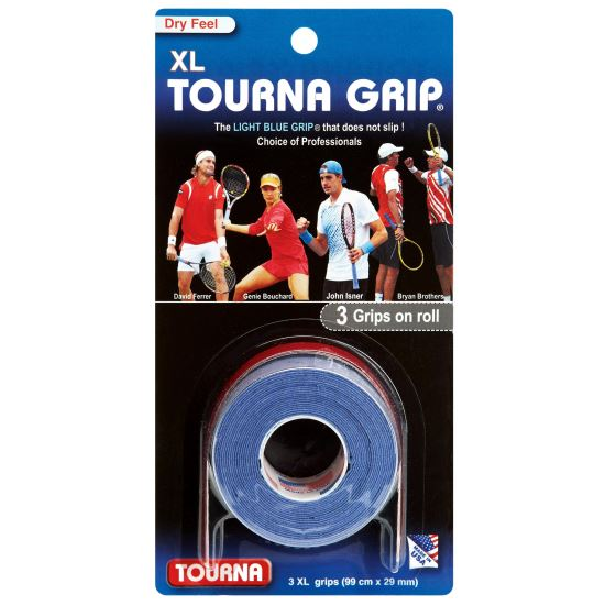 Overgrip TOURNA Blue, XL, 3 bucati