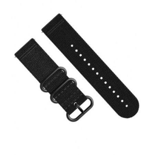 CUREA TRAVERSE ALPHA BLACK TEXTILE STRAP