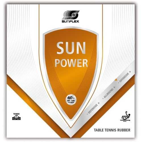 Fata ofensiva SUNFLEX SUN POWER, 2.1mm, rosu