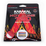 Racordaj squash KARAKAL HOT ZONE 120, Red